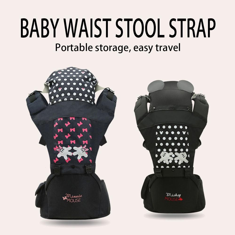 Disney Baby Träger Baby Kissen Vorne Sitzen Känguru Baby Wrap Sling für Baby Reise Multifunktions Infant Träger