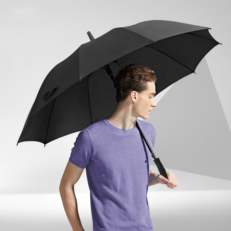 Umbrella Workers Manufacturers Customizable Logo Creative Automatic Advertising Umbrella Foreign Trade Currently Available 8 Bon