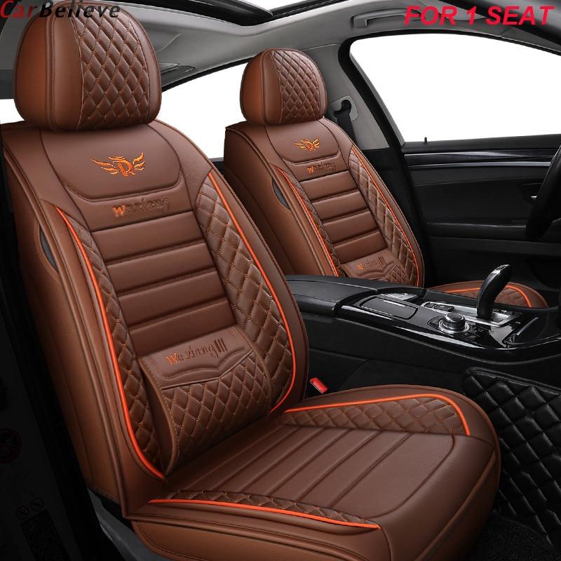 1 pcs leather car seat cover For suzuki baleno celerio liana ignis grand vitara swift 2008 wagon accessories seat covers for car
