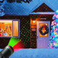 Jardín al aire libre césped escenario efecto luz Hada cielo estrella Proyector láser impermeable paisaje Parque Jardín Navidad Lámpara decorativa