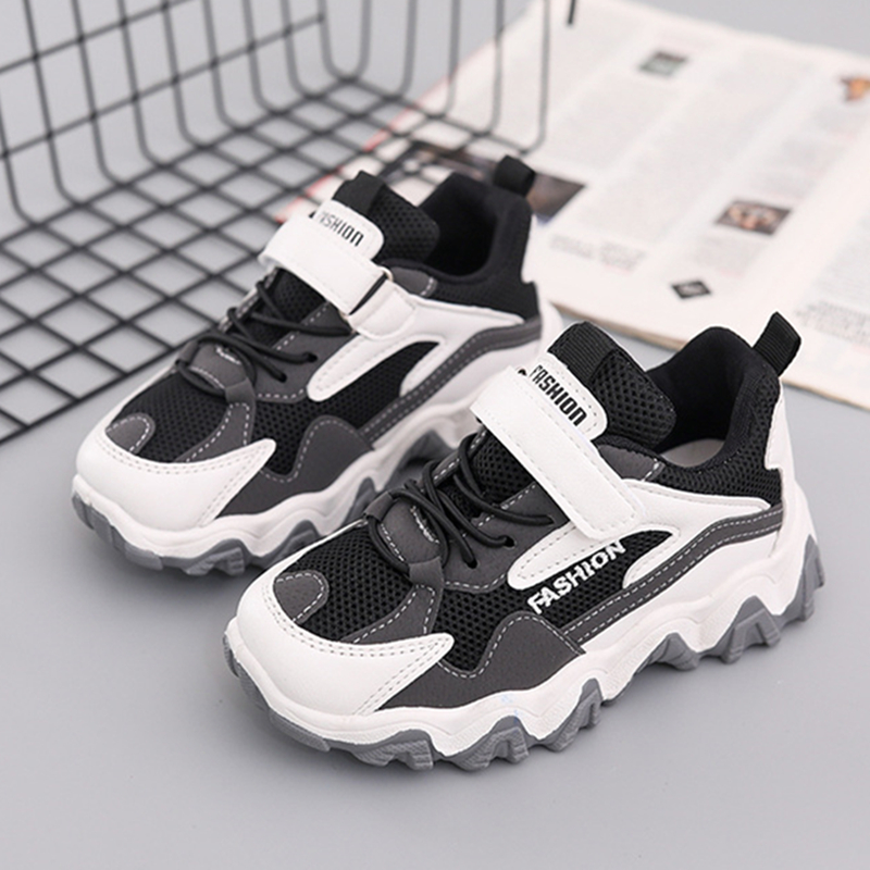 Spring Kids Shoes Sport Shoes Boys Students Children Shoes Wave Bottom Casual Toddler Sneakers Tenis Infantil