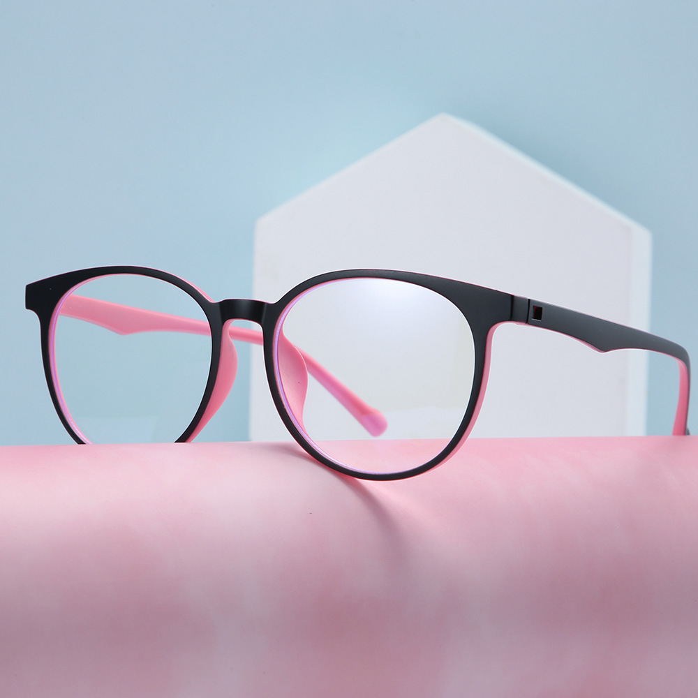 DENISA Blue Light Blocking Glasses Super Light TR90 Frame Eyeglasses Anti Blue Light Lens Computer Glasses Spectacles Frame S813