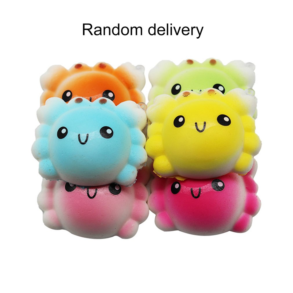 Food Animal Shape Slow Rising Antistress Squeeze Toys For Hands Key Phone Pendant Gifts For Kids Adults Relieves Stress Toys