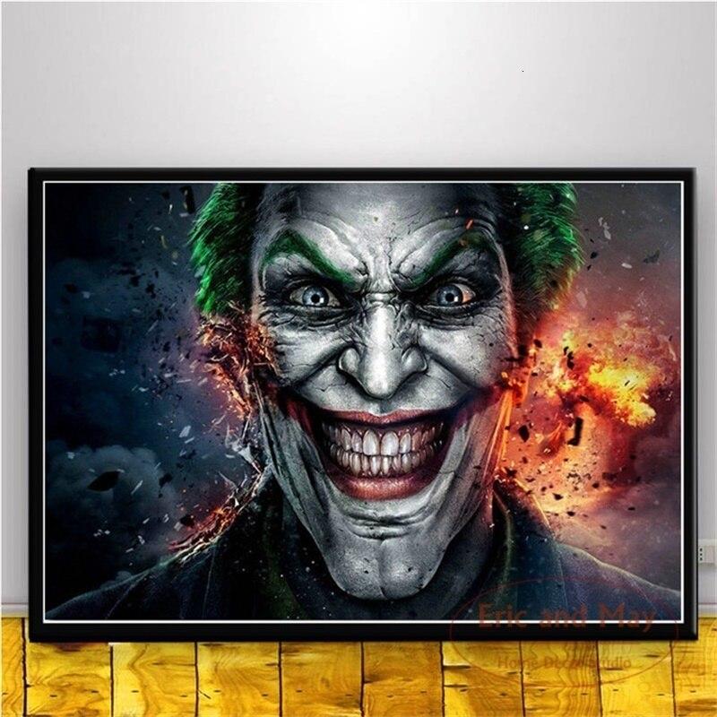 the joker heath ledger poster