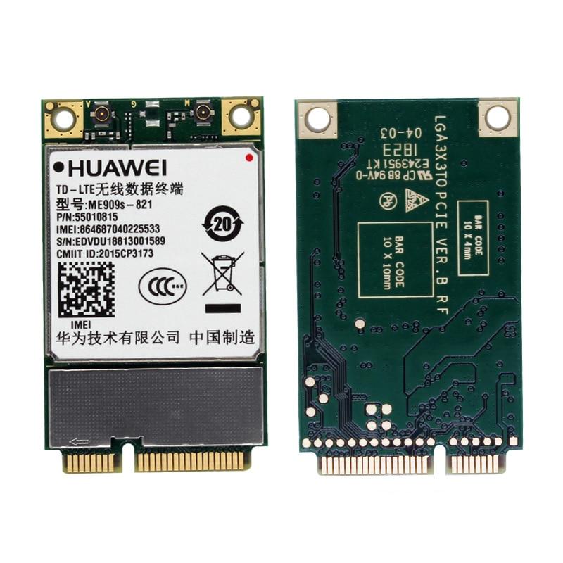 HuaWei ME909s-821 ME909S-821a 4G CAT4 LTE Mini Pcie Full Band Module Unlocked LTE-FDD B1 B3 B5 B8 B38 B39 B40 B41