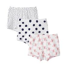 SheeCute  Girl's Toddler & Kids 3 Pcs/lot Underwear Cotton Soft Panties Baby Panties Kids Briefs
