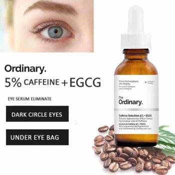 Zwykłe kofeiny rozwiązanie 5 + EGCG skoncentrowany wybielanie Serum do twarzy usunąć ciemne plamy piegi zabieg hiper pigmentacji tanie i dobre opinie Ciecz Fundacja Krem nawilżający Kontrola oleju Wodoodporna wodoodporny Antybakteryjne i przeciwzapalne Przeciwzmarszczkowy