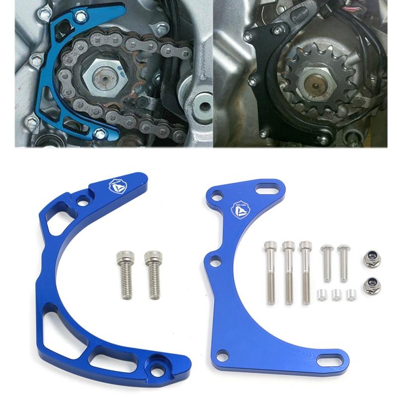 CNC Aluminum Case Saver Cover W/ Engine Protector Guard Frame For Yamaha Raptor 700 700R YFM700 2006 - 2017 YFM700R 2009 - 2017