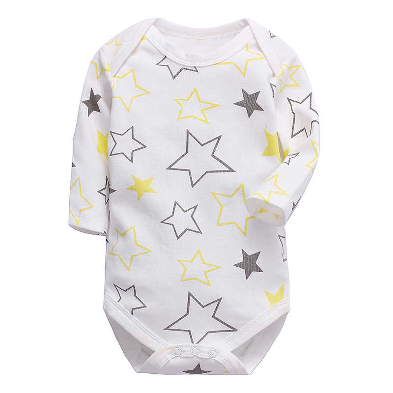 baby clothes newborn toddler infant romper long sleeve 100% cotton 3 6 9 12 18 24 months new born babies boys girls clothing