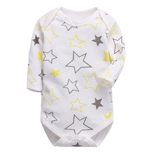 baby clothes newborn toddler infant romper long sleeve 100%