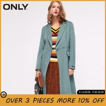 ONLY Women Autumn Winter 51% Wool Double-faced Coat Overcoat | 11834S510(China)