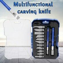 Holz Carving Meißel Messer Hand Tool Set Holzarbeiter Gouges für Holz Gummi Obst Handwerk Carving