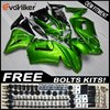Custom fairing motorcycle bodywork kit for 650R ER-6f 2006 2007 2008 ABS motor panels green+gifts