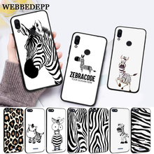 WEBBEDEPP Cartoon zebra supreman stripe On Sale Silicone Case for Xiaomi Redmi Note 4X 5 6 7 Pro 5A  Prime