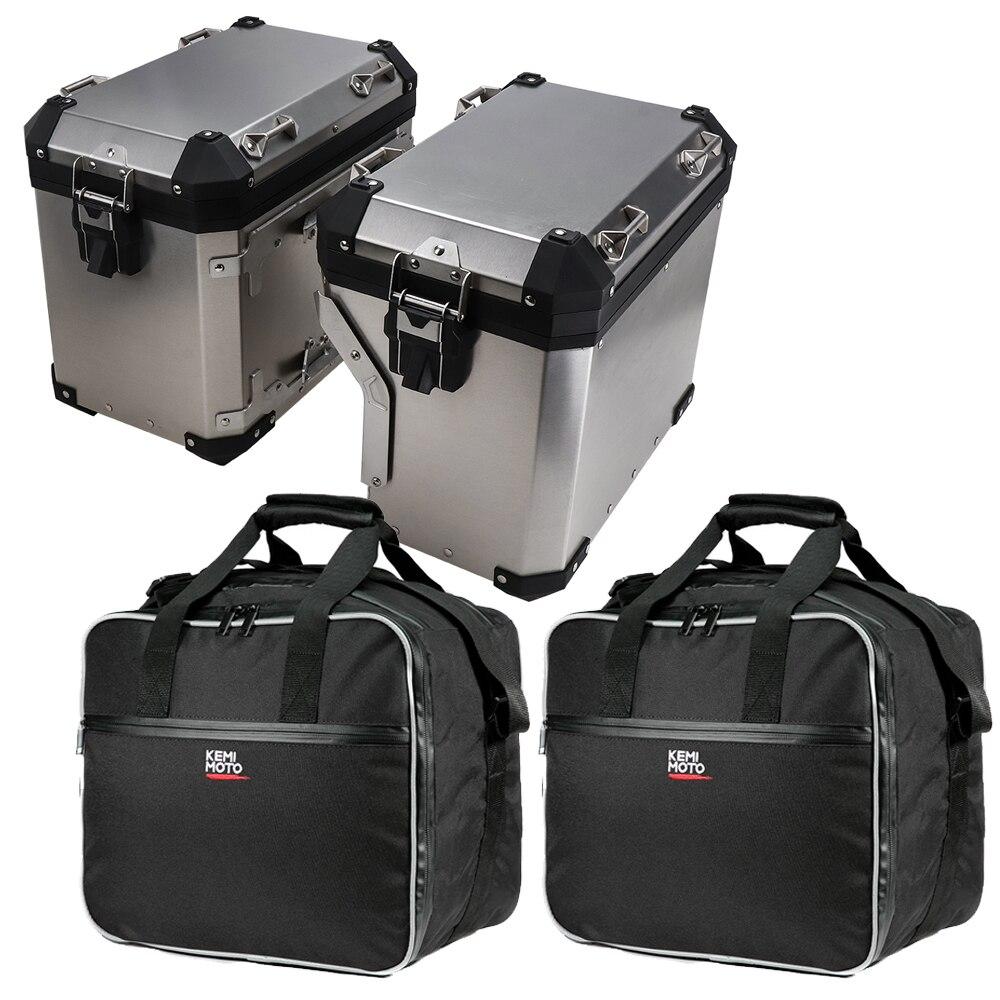 31L/38L/45L Motorcycle Side Box Bag Waterproof Liner Bag Suitcase Multi-purpose Shoulder Bags For BMW R1200GS For Kawasaki
