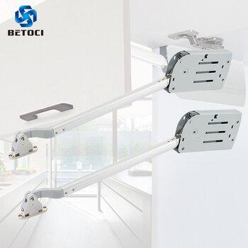 BETOCI складной раздвижной кронштейн для дверцы кухонного шкафа, амортизирующая мягкая опорная штанга, пневматическая пружинная опора, мебел