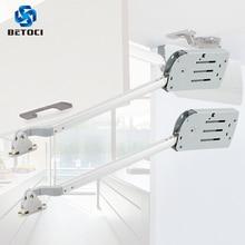 BETOCI 2PCS Damping buffer support rod Kitchen cabinet door folding lift air spring furniture hardware