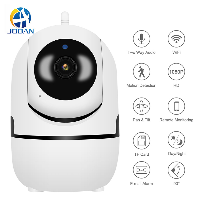 720P 1080P Wireless <font><b>IP</b></font> Camera Intelligent Auto Tracking Of IR Night Baby Monitor Work Well With App IPC360 Mini Camera image