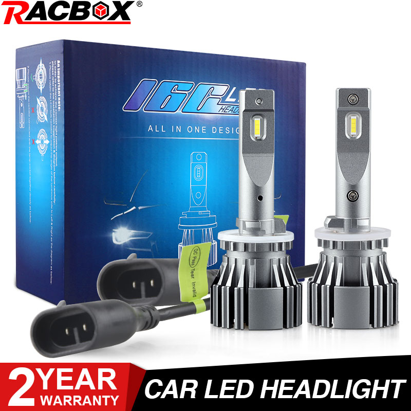 H27 880 881 Car Led Headlight Bulb 80W Led Bulbs LED Headlight Bulbs 6500K White 12V 8400LM Car Lamps Copper Pipe Auto Fog Light image