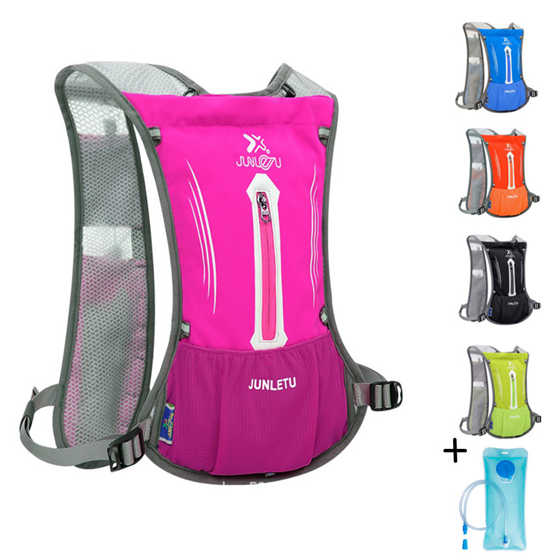 Ultralight 190g Running Hydration Backpack Women Men Breathable Jogging Sport Backpack Trail Running Marathon Bag With Water Bag