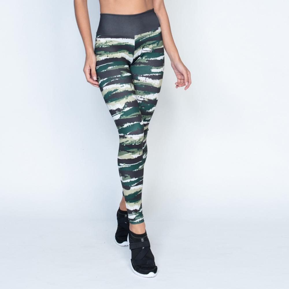 Polyester High Waist Workout Sportswear Fitness Ladies   Leggings   Female Elastic Force Breathable Skinny   Leggings