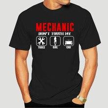Mechanik samochodowy Fixer koszula śmieszna mechanika T Shirt-2036D