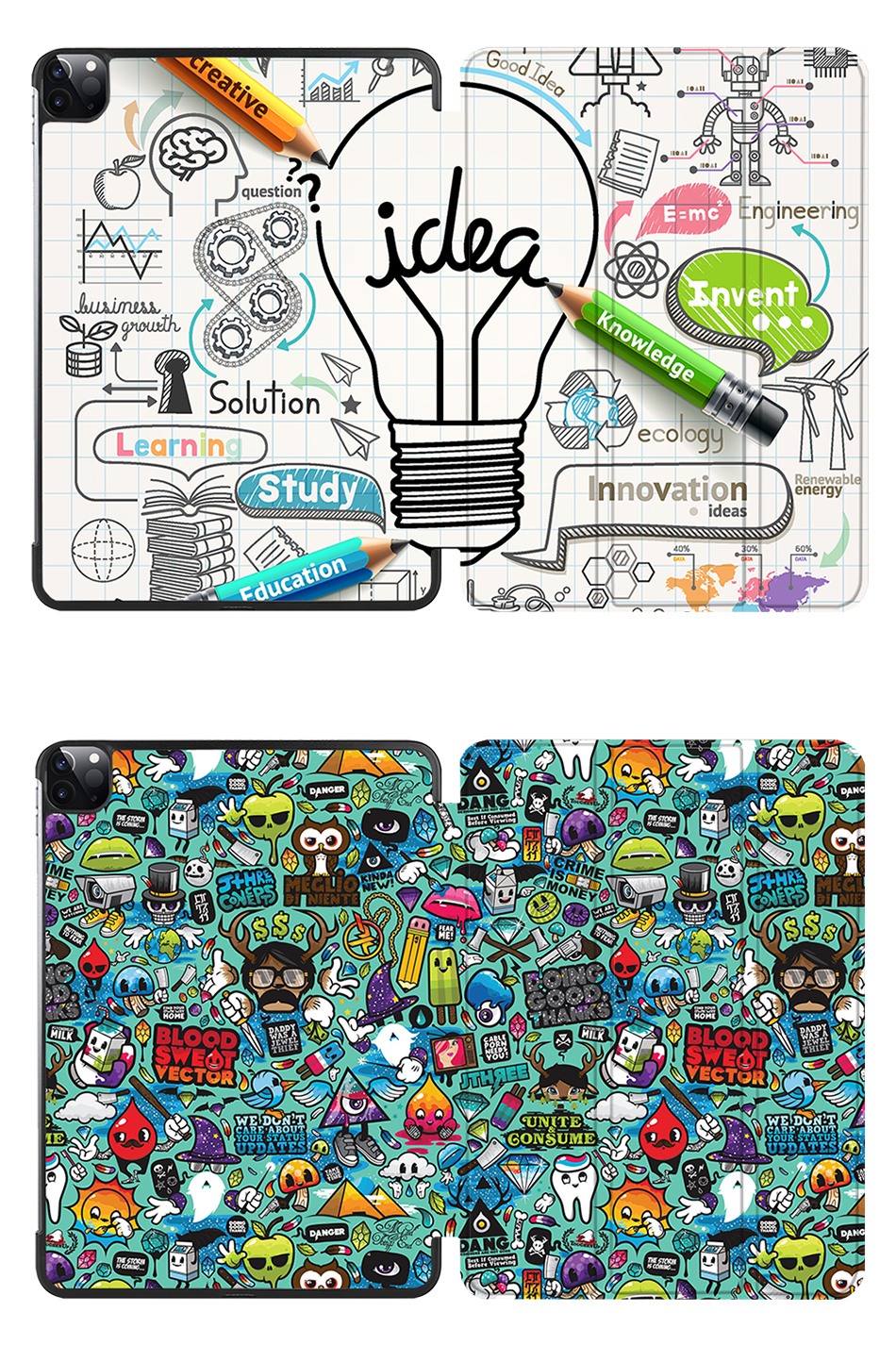 PU For Leather Stand Flip 2018 Slim 12.9 MTT Case 3rd Pro Smart iPad funda Generation
