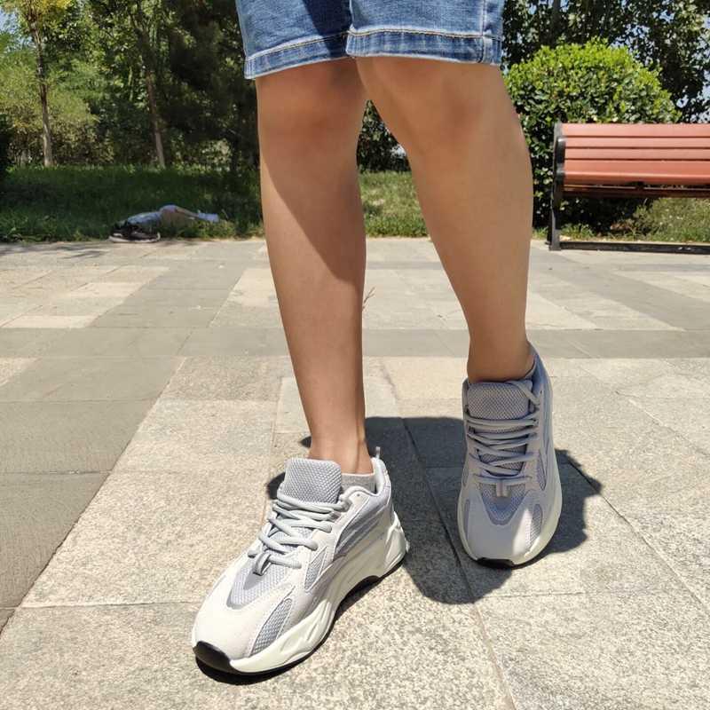 Popüler erkek ayakkabı bahar sonbahar moda rahat ayakkabılar erkekler yetişkinler için rahat nefes çift erkek sneakers