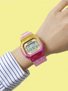 Digital Watches Shock Mix-Color Sky-Blue Girls Creative Stylish Alarm-Clock LED Men Unisex