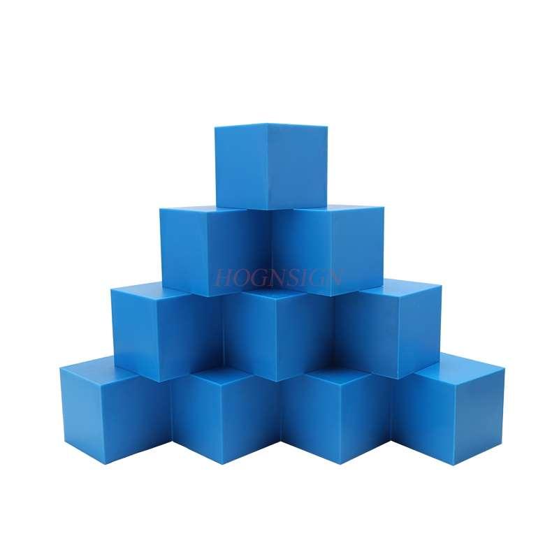 Elementary school mathematics 10cm cube decimeter cube volume unit demonstrator 1L cube model teaching aids