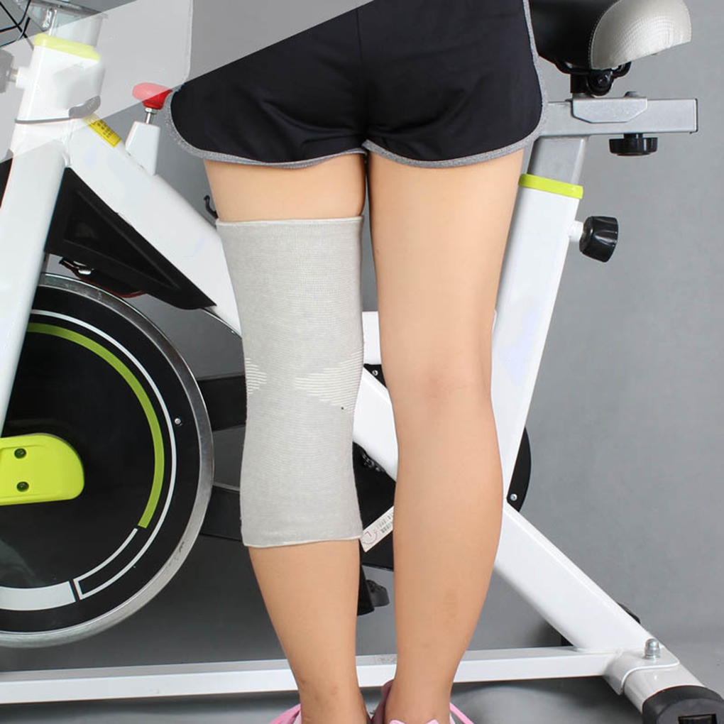 1 Pair Bamboo Charcoal Knee Brace Outdoor Cycling Basketball