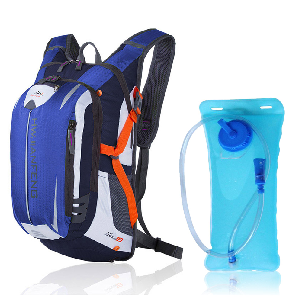 18L Cycling Bag Backpack with Hydration Bladder Outdoor Sports Water Bag Climbing Camping Hiking Bicycle Bike Bag