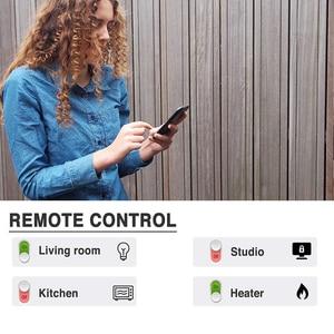 Image 5 - 스마트 와이파이 전원 스트립 영국 플러그 소켓 USB 서지 보호기 4 AC 콘센트 원격 제어 작업 알렉사 구글 홈 어시스턴트