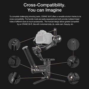 Image 5 - Zhiyun מנוף 3 מעבדה 3 ציר Gimbal מייצב עבור ניקון D850 gimbal dslr מצלמה Sony A9 A7R Canon 1DX סימן II 5D 6D gh5 PK מנוף 2