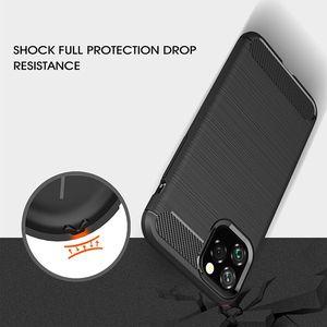 Image 4 - Funda de silicona suave para iPhone, carcasa de fibra de carbono para iPhone X XR XS 11 Pro max 6 6s 7 8 plus