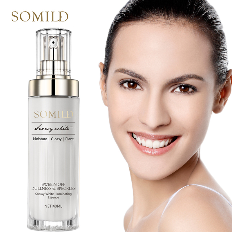 SOMILD Vitamin E Anti Aging Facial Serum Plant Essence Remove Wrinkle Fine Lines Anti-Oxidation Whitening Facail Essence Repair