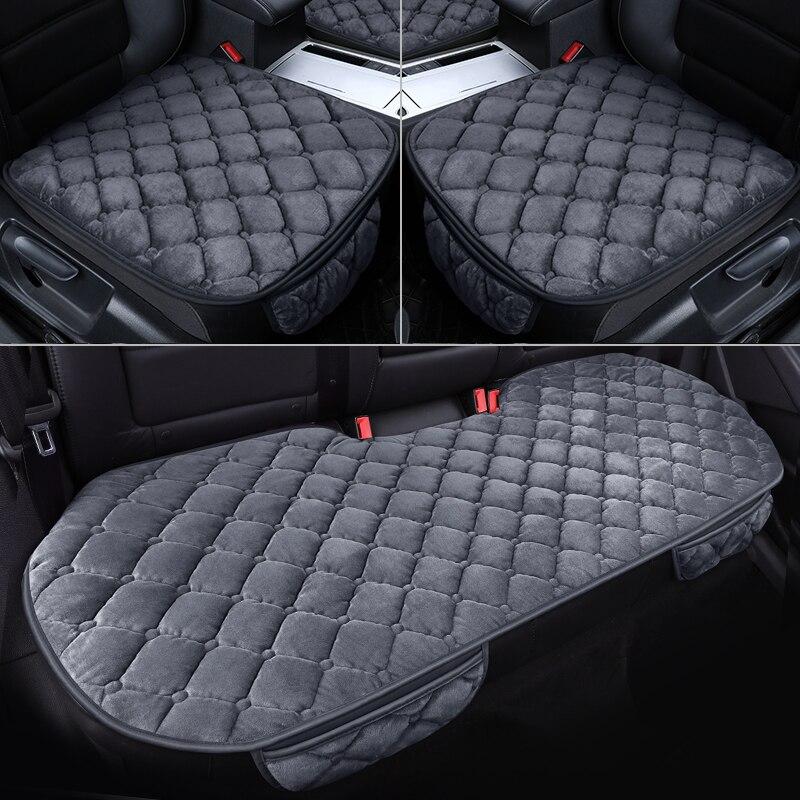 Купить чехол для автомобильного сиденья зимняя теплая подушка нескользящая