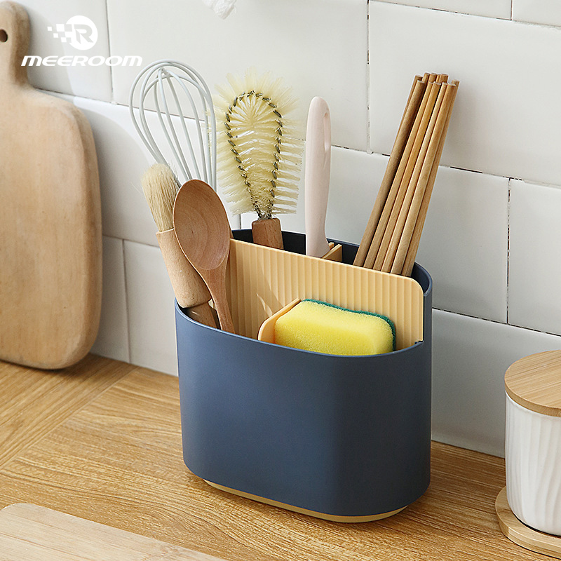 Multifunctional Eco Friendly Cutlery Drainer Box Eco Kitchen Storage » Planet Green Eco-Friendly Shop