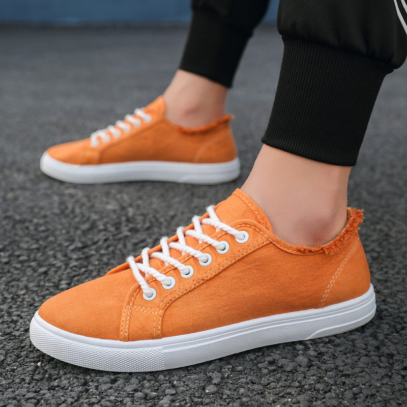 Mens Canvas Classic Lace Up Plimsoll Flat Shoes Trainers Sneakers