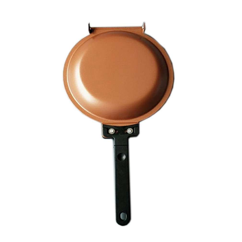 Gold Baking Pot Pancake Bonanza Cake Pan Without Frying Pan Quick Double-Sided Frying Pan