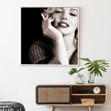 Мэрилин Монро настенный художественный холст постер картина