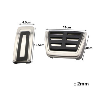 Image 4 - Color My Life Car Stainless Steel Car Pedal Pedals Cover for Volkswagen VW Passat B8 Limited Edition Variant VIII 2015   2020