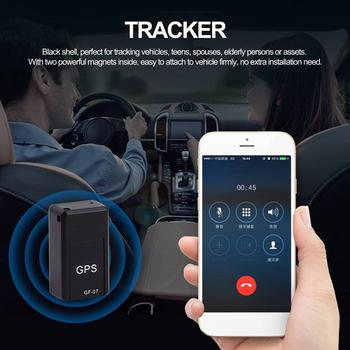 Magnetic Mini GF07 GPS Tracker Car Kids GSM GPRS Real Time Tracking Locator Device Anti-Lost Device Real-time Vehicle Locator image