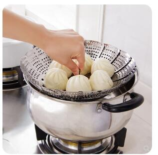 Stainless Steel Steamed Buns Steamer Household Steamed Rice Steamed Rice Steamed Steamed Buns