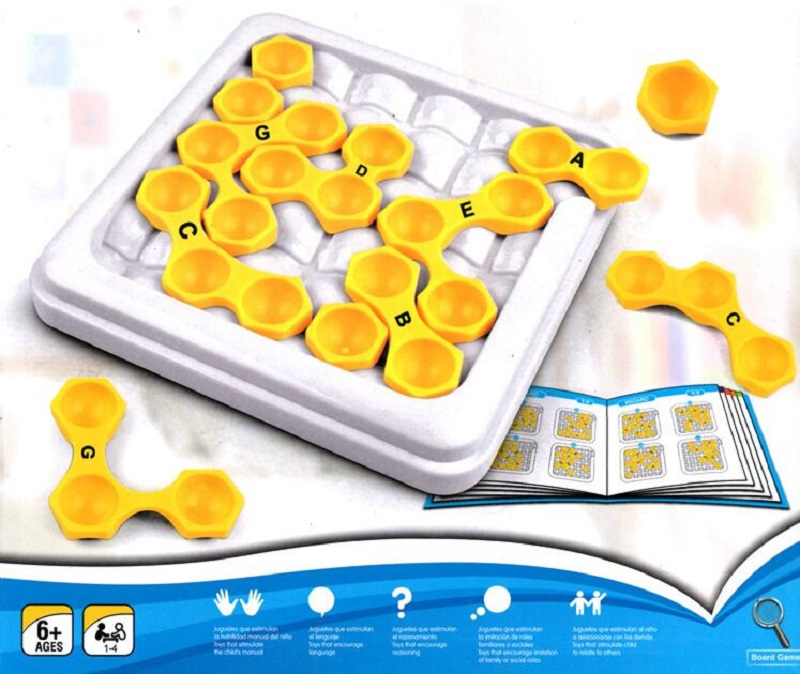 Fly AC escape the encirclement puzzle game children's educational toys Logic Thinking Reasoning Family Party Game