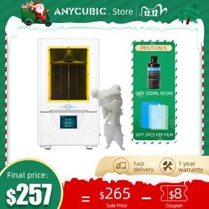 Image 1 - ANYCUBIC Photon S 3dเครื่องพิมพ์500MLเรซิ่น2PCS FEP LCD 3Dเครื่องพิมพ์Low Power SLA 3dชุดเครื่องพิมพ์UV Light Impresora 3d