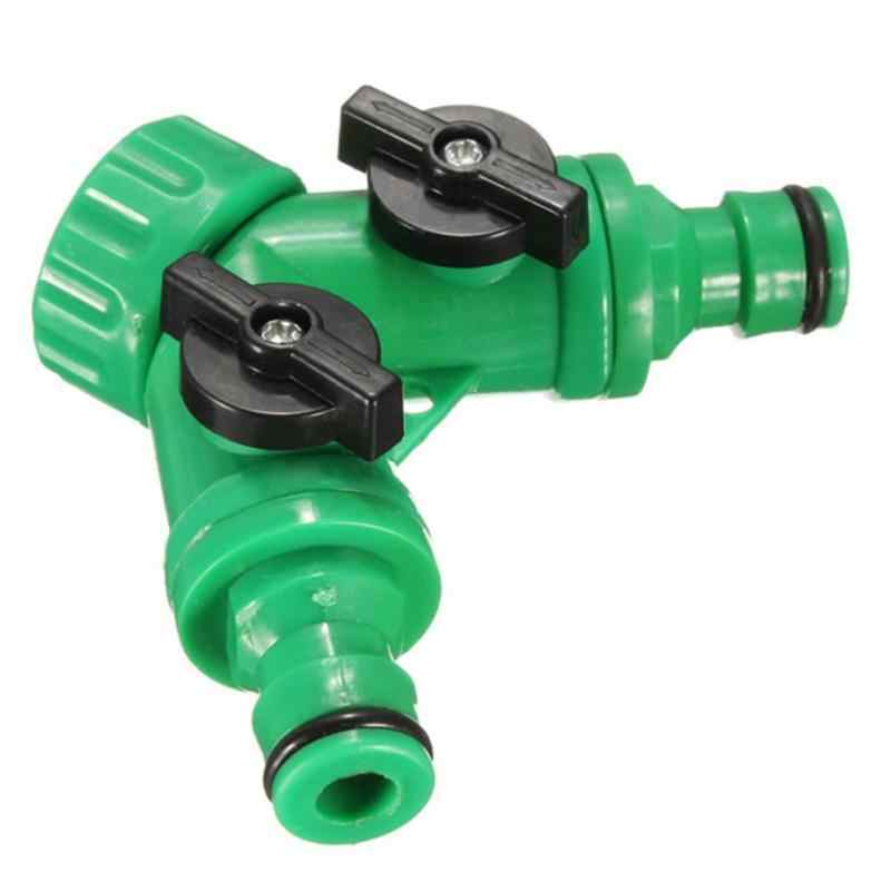Plastic Tuinslang Tool 2 Way Connector Adapter 2 Manier Tap Tuin Slangen Leidingen Splitters