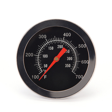 1PC Cooking Thermometer Clock Stainless Steel Dial Probe Pointer Thermometer Food Meat Gauge Max 350 Degree 0 100 degree length 10 cm bimetallic thermometer wss 411 stainless steel disc industrial boiler thermometer radial