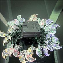 Solar Powered String Light Lovely Moon Shape For Party Holiday Wedding Home Q84D for LED