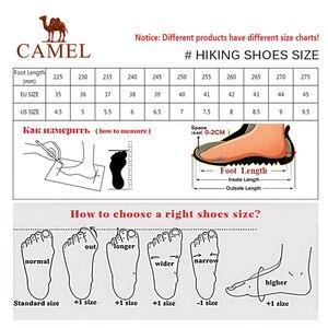 Image 5 - CAMEL nouvelles femmes chaussures haut haut randonnée antidérapant respirant montagne amorti escalade Trekking bottes chaussures de sport de plein air